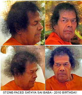 Sathya Sai Baba 85th birthday portraits