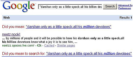 Google on a billion devotees