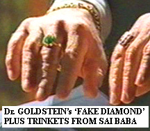Dr. Michael Goldstein's 'fake diamond' ringplus