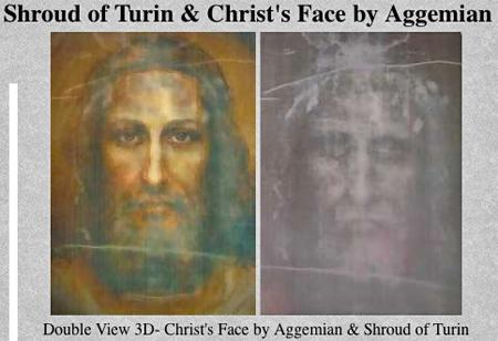 Jesus image by artist Aggemian
