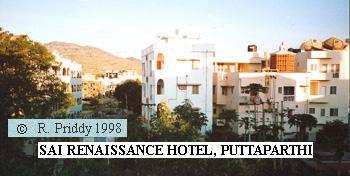 SAI RENAISSANCE HOTEL,Puttaparthi