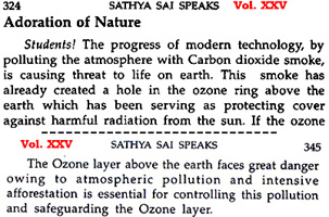 quotations from Sathya SaiSpeaks