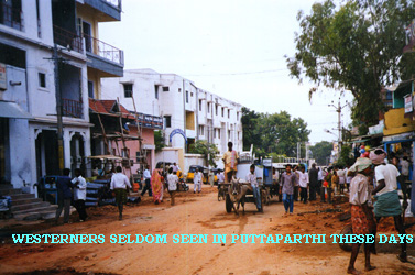 Village scene without white faces