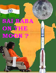 Sai Baba and India's moonshot project