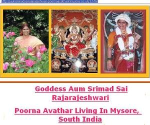 Amma in all her divine glory?