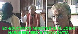 Manohar Joshi - Home Minister