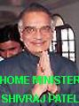 Home Minister Shivraj Patel