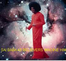 Sai Baba in cloud cuckoo land