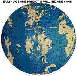 Possible changes to the earth after catastrophe
