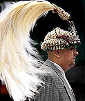 Former king of Nepal and Vishnu incarnation - Gyanendra