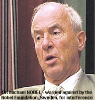 Dr. Michael Nobel - black sheep of Nobel Prize