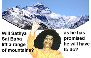 Sathya Sai Baba illustration