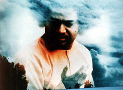 Sai Baba in the sky