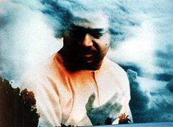 Sai Baba in the sky