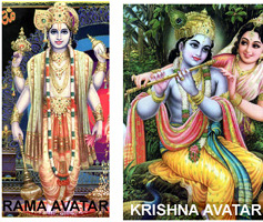 Rama and Krishna