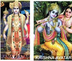 Rama and Krishna