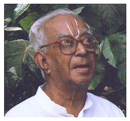 V.K. Narasimhan with one eye blind