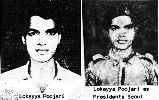 Lokyya Pujari - murdered and body burned
