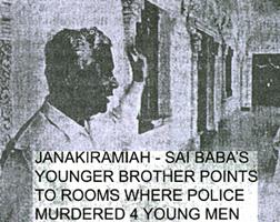 Sathya Sai's younger brother, Janaki Ramiah
