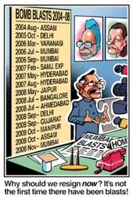 Shivraj Patil - why resign?