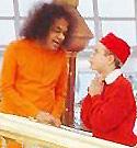 Sai Baba & boy