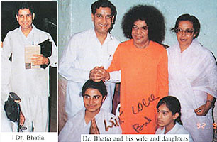 "Dr. Bhatia very close servitor of Sathya Sai Baba - ""too close for comfort"""