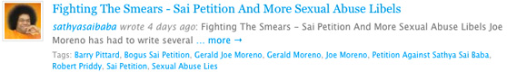Gerald Joe Moreno poses as sasthyasaibaba to mislead people