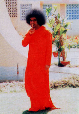 Sathya Sai Baba imposes silence about himself as far as possible