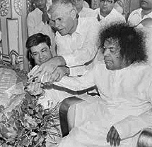 Sathya Sai Baba helpless hands