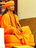 Swami Nithyananda is seen on a video caressing an Indian actress on a bed etc.s accused of sexual
