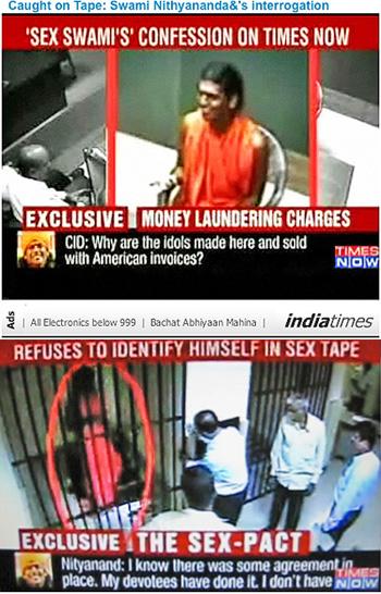 Swami Nityananda - confession to CBI, India