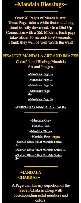 Gerald Moreno quackery - bogus 'healing' by staring at digi-mandala