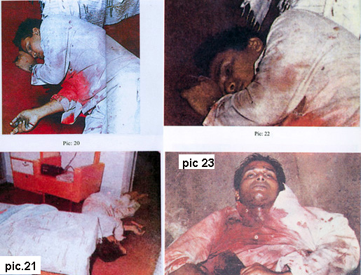 Victims of police execution on orders of Sathya Sai Baba's men