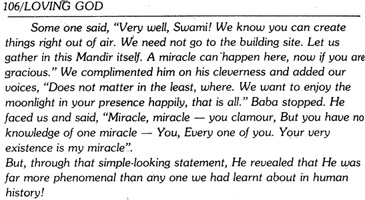 Scan from book by Professor N. Kasturi about Sathya Sai Baba