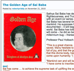 The promised Golden Age of Sai Baba