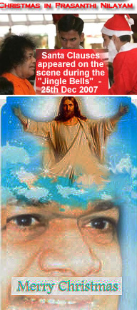 Sathya Sai Baba Xmas hype