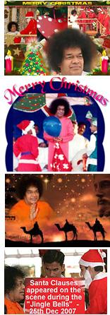 Sathya Sai Baba Xmas cash-hype