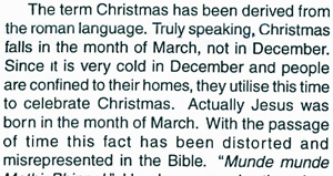 From 1998 Christmas Sandesh by Sathya Sai Baba - Prashanthi Nilayam publication