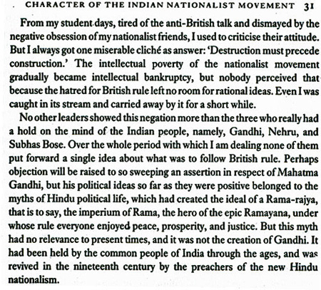 from Nirad Chaudhuri's autobiography - part 2
