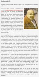 On Basava Premanand and Swami Shivananda of Rishikesh