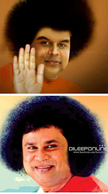 Dileep as Sathya Sai Baba