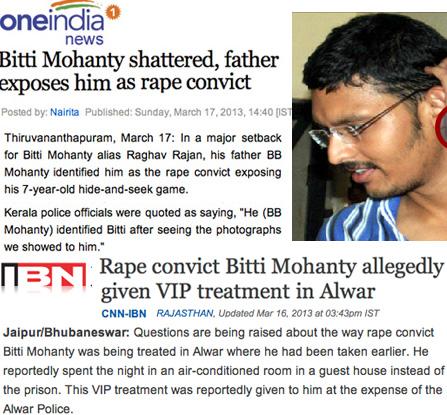 Sathya Sai Baba hid his VIPconvict rapist, Bitti Mohanty