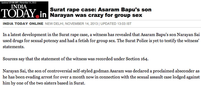Narayan Sai group sex lust