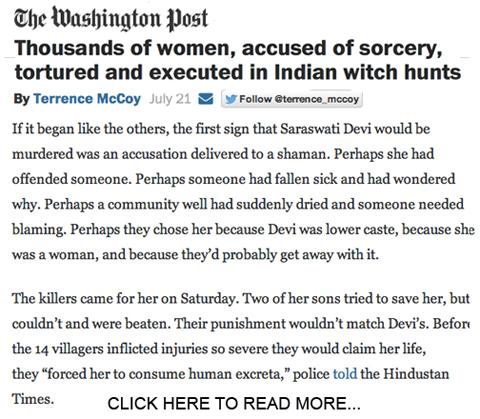 Indian sorcery