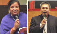 MRS.USHA & MR. CHENG HO LIM