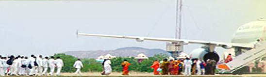 Sai Baba wasted funds on hiring private jumbo jets to go on holiday with his students - 2005 and 2006