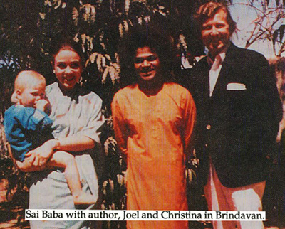Sai Baba's 'Rainbow man' Joel