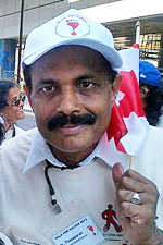 Dr. Arumugam Thayaparan, Canadian Chairman of Sail Cult in Canada