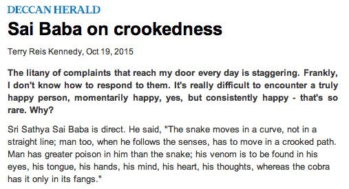 Crookedness