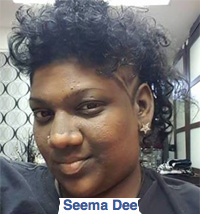 Seema Dee - self-appointed 'Lady'